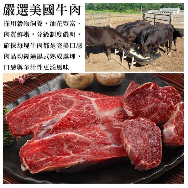 * WANG**鮮食喵*【1包】美國牛腱心牛肉(400g/包)