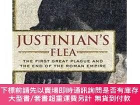 二手書博民逛書店Justinian s罕見Flea: The First Great Plague and the End of