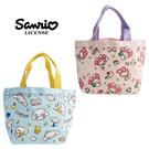 【日本正版】三麗鷗 帆布 手提袋 便當袋 午餐袋 美樂蒂 大耳狗 Sanrio 381751 381836
