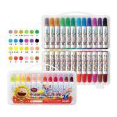 雄獅 奶油獅 BLW-24/B 24色可水洗彩色筆/一箱6盒入{定220} 美術彩繪圖畫創作