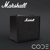 小叮噹的店-Marshall  Code 25 25瓦 藍牙 數位音箱 吉他音箱 內建多組效果