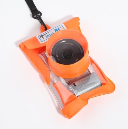 相機防水罩 佳能索尼相機防水套卡西歐zr3500 3600 12001000通用游泳潛水包袋 玩趣3C
