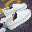 (NE-2233)懶人百搭厚底樂福鞋平底厚底鞋