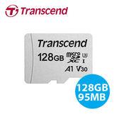 創見 128GB 300S microSDXC UHS-I U3 V30 A1 TF 記憶卡 (支援 4K 錄影) (相機)