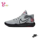 NIKE籃球鞋 男鞋 高筒籃球鞋 中筒籃球鞋 耐磨 KD TREY 5 VIII P7263#黑灰◆OSOME奧森鞋業