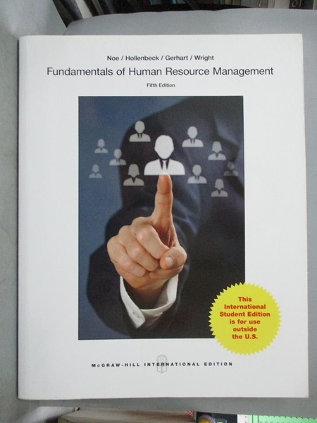 【書寶二手書T1/大學商學_QJN】Fundamentals of Human Resource Management5/e_Noe、Hollenbeck