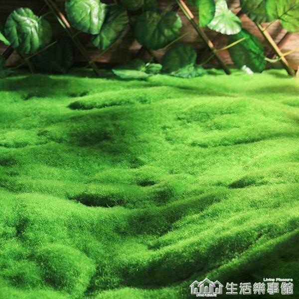 仿真植物牆青苔草皮人工草坪綠色地毯墊子室內牆面櫥窗裝飾假苔蘚 NMS生活樂事館