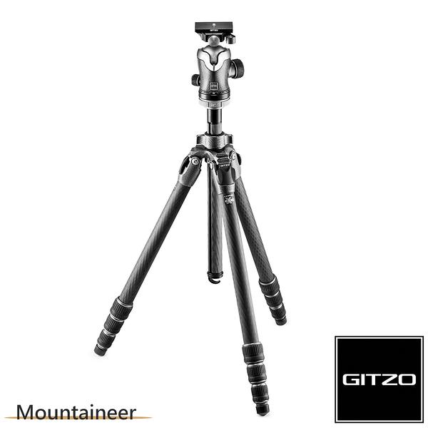 GITZO Mountaineer GK2542-82QD 碳纖維三腳架雲台套組2號4節-登山家系列 【公司貨】