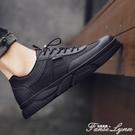 2020夏季新款帆布男鞋全黑色韓版百搭潮流布鞋休閒板鞋透氣潮鞋子 范思蓮恩