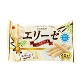 日本 北日本 愛麗絲香草白巧克力風味捲心酥 40入