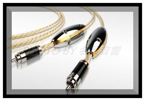 《名展影音》(Phono with ground wire)荷蘭Crystal Cable訊號線1米 Monocrystal系列- Absolute Dream(特規格版)