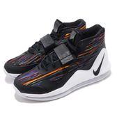 Nike Air Force Max EP 彩虹 黑 男鞋 氣墊 魔鬼氈 復古籃球鞋 運動鞋【PUMP306】 AR0975-100