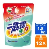 一匙靈 亮彩 超濃縮洗衣精 補充包 1.8kg (6入)x2箱【康鄰超市】