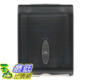 [105美國直購] 紙巾分配器 Georgia-Pacific GP 56650/01 Translucent Smoke Combination C-Fold or Multifold