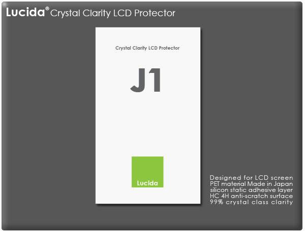 ★相機王★獨家首賣Lucida LCD保護貼 J1﹝Nikon 1 J1、 X-M1專用﹞現貨供應