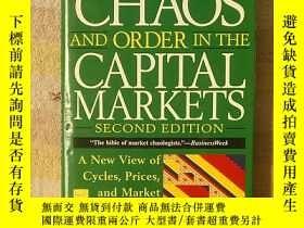 二手書博民逛書店Chaos罕見and Order In the Capital Markets資本市場的混沌與秩序 【英文原版】