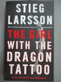 【書寶二手書T1/原文小說_OHZ】The Girl with the Dragon Tattoo_Stieg Larsson