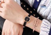 2019新款正韓潮流時尚女士手錶小錶盤簡約休閒大氣防水學生石英錶