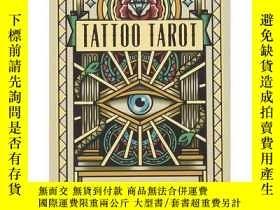 二手書博民逛書店Tattoo罕見Tarot: Ink & Intuition,紋