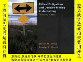 二手書博民逛書店Ethical罕見Obligations And Decision Making In AccountingY