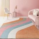 地毯 80*160家用地毯客廳簡約現代北歐茶幾毯輕奢少女臥室全滿鋪大面積地墊