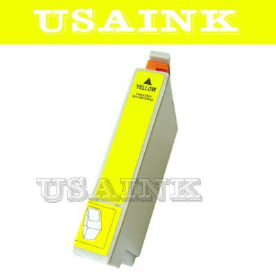 USAINK☆EPSON T0734黃色相容墨水匣 適用C79/C90/C110/CX3900/CX4900/CX5500/CX5900/6900F/CX7300/CX8300