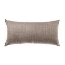 HOLA 素色雅韻織紋抱枕30X60CM-楓糖棕