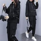 降價兩天 女裝秋裝2020新款韓版胖mm兩件套女運動裝寬鬆顯瘦時尚女神范女裝