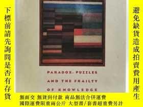 二手書博民逛書店Labyrinths罕見of Reason: Paradox, Puzzles, and the Frailty