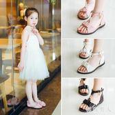 女童2018夏季新款兒童女中大童女孩韓版公主鞋寶寶鞋 XW1052【極致男人】