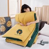 時尚保暖水洗棉被子被芯四季通用被褥棉被加厚保暖單雙人空調被子【邻家小鎮】