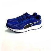 女段 PUMA Engine Jr 輕量慢跑鞋 運動鞋《7+1童鞋》8190 藍色