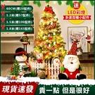 聖誕樹 60/120cm多選尺寸豪華加密聖誕樹聖誕節裝飾品聖誕老人禮品聖誕節裝飾【現貨可開發票】