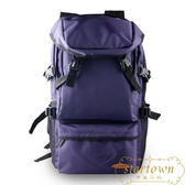戶外登山背包後背包超大容量徒步旅行背包行李包 小號【繁星小鎮】