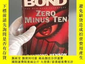 二手書博民逛書店ZERO罕見MINUS TENY467724 JAMES BOD 外文社 出版1997