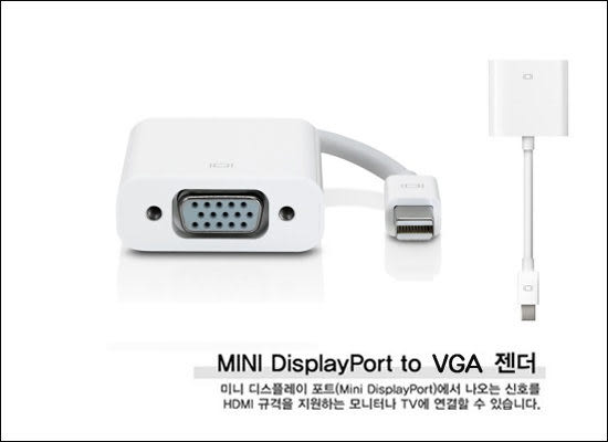 Apple Mini DisplayPort to VGA 支援Thunderbolt 訊號轉接線 MACBOOK AIR PRO Mac Mini MBA MBP BOXOPEN