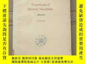 二手書博民逛書店functions罕見of several variables(P2202)Y173412