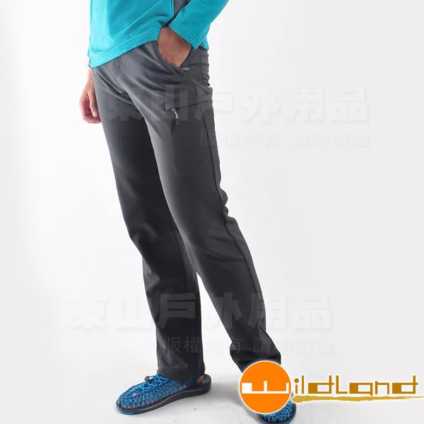Wildland荒野 0A22316-93深灰色 男Softshell直筒長褲