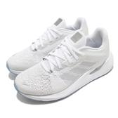 adidas 慢跑鞋 Alphatorsion W 白 灰 女鞋 反光設計 舒適緩震 運動鞋【ACS】 EG9603