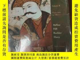 二手書博民逛書店A罕見History Of World Societies Vo