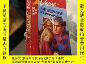 二手書博民逛書店NOT罕見A MARRYING MANY171502 Dixie