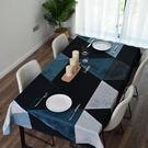 時尚可愛空間餐桌布 茶几布 隔熱墊 鍋墊 杯墊 餐桌巾665 (140*140cm)