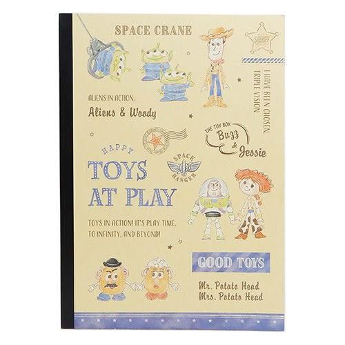 DISNEY 玩具總動員B5平裝筆記本(童趣玩耍)★funbox★KAMIO_KM09955