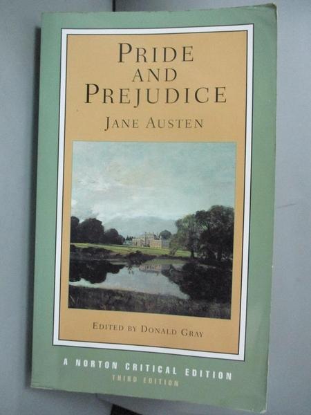 【書寶二手書T3/原文小說_GTQ】Pride and Prejudice_Austen, Jane