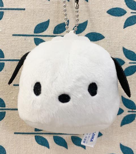 【震撼精品百貨】Pochacco 帕帢狗~三麗鷗帕帢狗造型絨毛娃娃/吊飾-大頭饅頭#09758