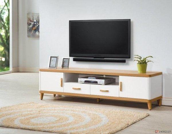 【新北大】K387-1 寶格麗6尺電視櫃-2019購