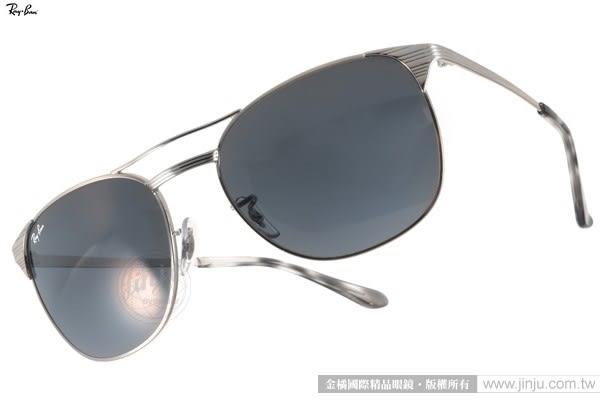 RayBan 太陽眼鏡 RB3429M 003R5-58mm (銀) 時尚元素經典熱銷款 # 金橘眼鏡