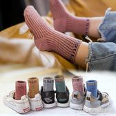 男童襪子  兒童襪子純棉男女孩秋冬中大童中筒加厚1-3-5-7-9-12歲 寶寶棉襪 宜室家居