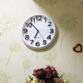 掛鐘創意靜音掛鐘現代簡約時鐘個性數字鐘錶藝術客廳  俏女孩