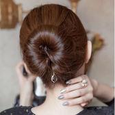 丸子頭盤髮器造型器百變蓬鬆韓國扎頭髮飾品花苞頭髮帶髮繩頭飾女 生日禮物 創意